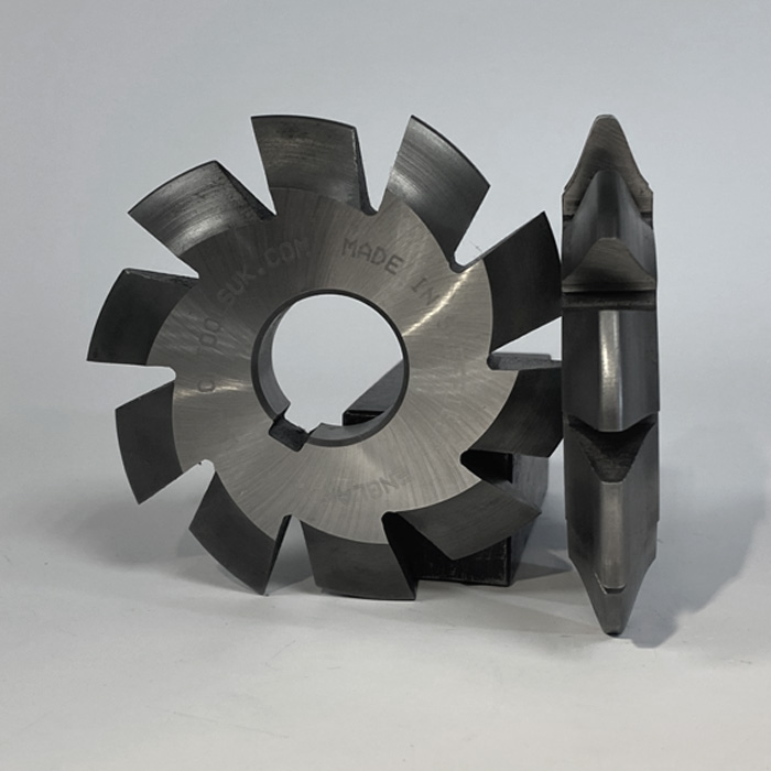 Diametrical Pitch Involute Gear Cutters from C.R.Tools in Sheffield