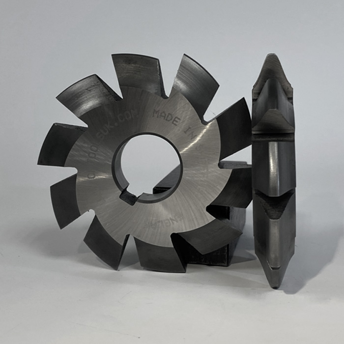 Modular Pitch Involute Gear Cutters from C.R.Tools in Sheffield